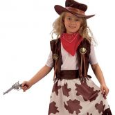 Cowgirl Child Costume | CC633 | CC634 |cc012