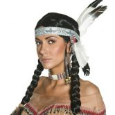 Indian Wig Authentic Western