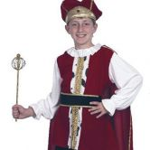 Medieval King Child Costume |cc559 |cc558