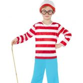 Where's Wally Child Costume