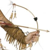 Indian Bow and Arrow Set, Deluxe |